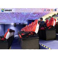 Wholesale Immersive 9D Moive Theater Cinema Seat With Electric / Pneumatic System from china suppliers