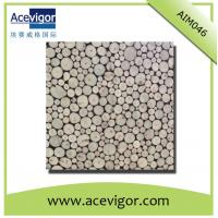 Wholesale Round mosaic wall tiles for indoor decoration from china suppliers