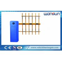 Quality 100% Heavy Duty Blue Automatic Vehicle Barrier Gate Driveway Barriers OEM Service for sale