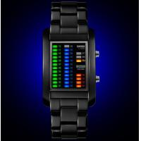 Wholesale Fashion 4 color LED Display Men Wrist Watch Waterproof 50m with date and week sport watch 1103 from china suppliers