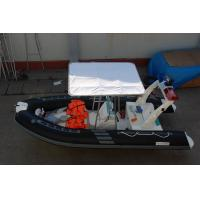 Quality 235 KGS Largest Inflatable Boat , Simple Design Inflatable Fishing Boats With Motors for sale