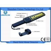 Wholesale Security Hand Held Metal Detector Wand / portable metal detector body scanner High Stability from china suppliers
