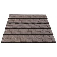 Quality Traditional Chinese Discount Sun Stone Coated Metal Roof Tile for sale