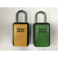 Buy cheap Rust Free Strong Zinc And Aluminum Alloy Body Door Key Lock Box Black & Yellow from wholesalers