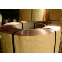 Wholesale 0.78mm  - 1.50mm Bright Tyre Bead Wire  , Copper coated Steel Wire from china suppliers