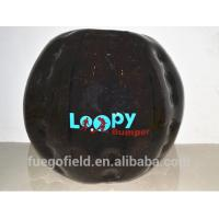 Wholesale Bouncing inflatable bumper bal Roll Inside Loopy Bumper with Pump from china suppliers