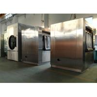 China Two Doors Front Loading Barrier Washing Machine Stainless Steel 304 For Hospital Laundry on sale