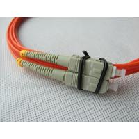 Wholesale Simplex / Duplex Optical Fiber Patch Cord , Customized Fibre Optic Patch Cords from china suppliers