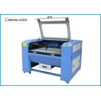 Wholesale Desktop 100w 150w Glass Tube CO2 Laser Cutting Machine With Plastic Leather Wooden from china suppliers