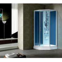 Wholesale HIGH QUALITY Small sector simple shower room WITH BLUE GLASS G362 from china suppliers