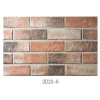 Wholesale 210 * 55 * 12mm Clay Thin Veneer Brick / Thin Brick Veneer Interior Walls from china suppliers