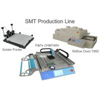 Wholesale Table Top SMT Production Line With Manual Stencil Printer T960 Small Reflow Oven from china suppliers