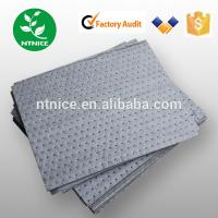 Wholesale hot sale 100% PP Spill Control  dimpled universal Spill Control 40cm*50cm absorbent pads from china suppliers
