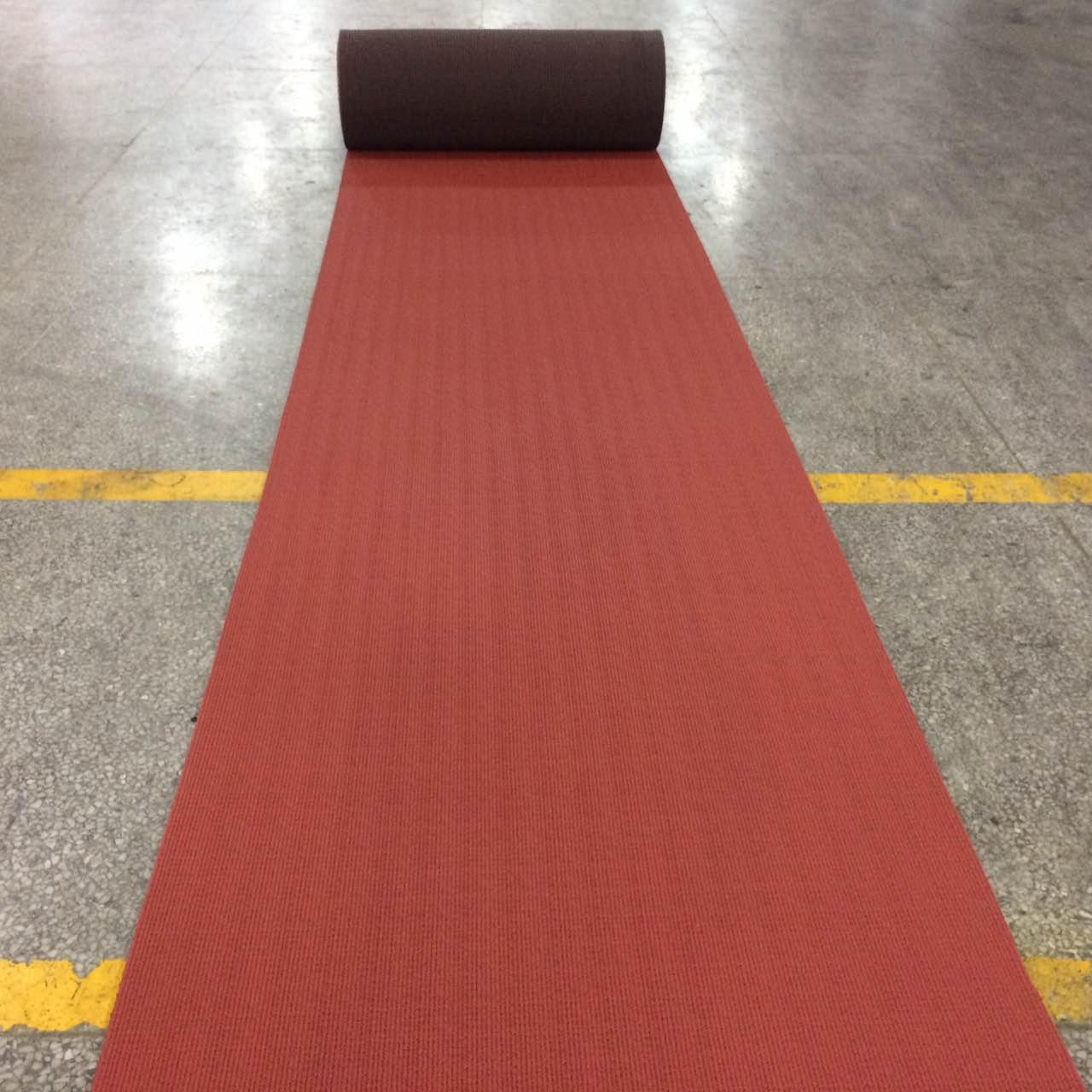 Quality IAAF certified staium rubber track runway material for sale