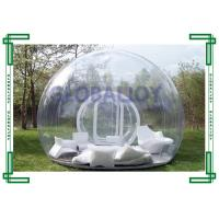 Wholesale PVC / TPU Clear Transparent Inflatable Bubble Tent Room Customized from china suppliers