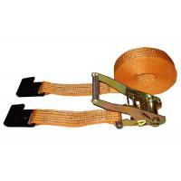 Wholesale 5000kg Polyester Webbing Slings With Flat Hook / Cargo Lashing Strap from china suppliers