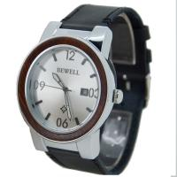 Wholesale IPS Fashion Metal Color Mens Stainless Steel Watches With Red Sandal Wood Case from china suppliers