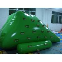 Quality 0.9 mm PVC Tarpaulin Inflatable Iceberg Floating Water Park With Digital Printing for sale