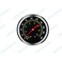 Wholesale 63mm Back black steel case accurate tyre pressure gauge with stainless steel covering from china suppliers