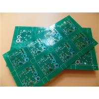 Buy cheap Peelable Mask PCB on FR-4 Tg170 Substrate With Double Sided Copper from wholesalers