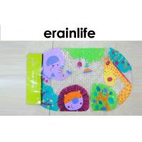 Wholesale Shower Room Kids Anti Slip Bath Mat With Cute Zoo Animal Pattern from china suppliers