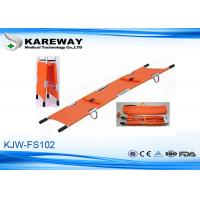 Wholesale Waterproof Double Fold Stretcher Manual Operation , Easy Storage And Transportation from china suppliers