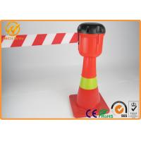 """Wholesale 9 meters Extensible 2"""" width Nylon Webbing Traffic Cone Topper in Yellow / Black and Red / White from china suppliers"""