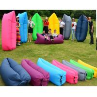 Wholesale Camping Hiking inflatable air bag Sleeping Sofa / Fast Inflatable Laybag from china suppliers