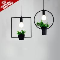 Wholesale Nordic Style Pendant Lighting Home Decoration Modern Minimalist Hanging Lights Art Fixtures Ambilight Wrought Iron Lamp from china suppliers