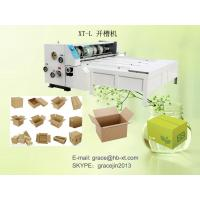 Buy cheap Corrugated Carton Box Making Machine Carton Slotter 60 Pieces/Min For Normal Carton from wholesalers