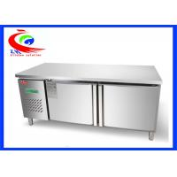 Wholesale 400L Refrigeration Equipment Undercounter Working Table Refrigerator Workbench from china suppliers
