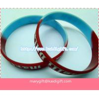 Wholesale printed silicone bands bracelet with low price from china suppliers