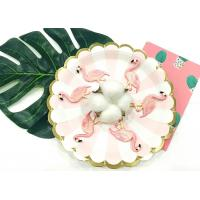 Wholesale Partysu And Cute Flamingo Shape Custom Embroidered Patches For Girls from china suppliers