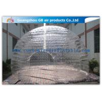 Wholesale Light Weight Transparent Inflatable Wedding Tent Clear Plastic Dome Tent from china suppliers