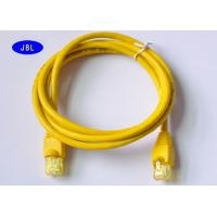 Wholesale Single Shielded Ethernet Network Cable CAT5e Patch Cord With HDPE Insulation from china suppliers