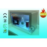 "Wholesale HD Advertising 22"" Transparent LCD Display Wall mount With Show Case from china suppliers"
