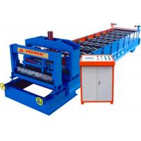 Buy cheap Metal Colored Steel Glazed Tile Roll Forming Machine With 25.4mm Chain from wholesalers