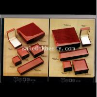 Wholesale leather jewelry box from china suppliers