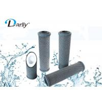 "Wholesale 68mm 10"" Activated Carbon Filter Cartridge , Carbon Block Water Filter Cartridge from china suppliers"
