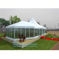Wholesale Waterproof Large Outdoor Party Tents With Aluminum Frame / PVC Cover from china suppliers