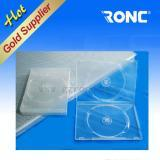 Wholesale 14mm Transparent Rectangle Single Double DVD Case from china suppliers