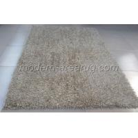 Wholesale Living Room Milky White Shaggy Rugs, Contemporary Polyester Shaggy Pile Rug from china suppliers