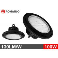 Wholesale 100 Watt 110 Volts UFO LED High Bay warehouse lights with Philip LEDs from china suppliers