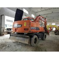 Buy cheap 2012 Year Used DOOSAN Wheel Excavator DH150W-7 Engine Power 71kw from wholesalers