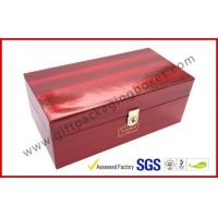 Wholesale High Glossy Printed Win Gift Box Locked System with Thermocol Plastic Tray from china suppliers
