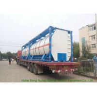 China BDP Heating Insulated ISO Tank Container Stanless Steel 20FT For Bisphenol-A Bis on sale