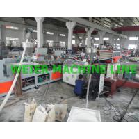 Wholesale Conical WPC Board Production Line For Furniture / Onstruction Template from china suppliers