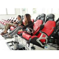 Wholesale Electronic Dynamical 4D Cinema Equipment With 100 Seats in Red from china suppliers