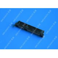 Wholesale Black Slim Serial Attached SCSI Connector , Female SAS SFF 8482 Connector from china suppliers