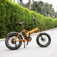 Buy cheap 20 Inch Electric Fat Chopper Beach Cruiser Bicycle Bike Aluminum Alloy Frame from wholesalers